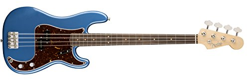 Fender American Original '60s Precision Bass Electric Bass Guitar Lake Placid (Original Precision Bass)