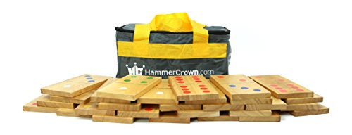 Hammer Crown Giant Dominoes; Color Pips by Hammer Crown