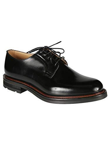 Hombre Negro Cordones Eec1859xvf0aab Church's De Zapatos Cuero FxCEwvd