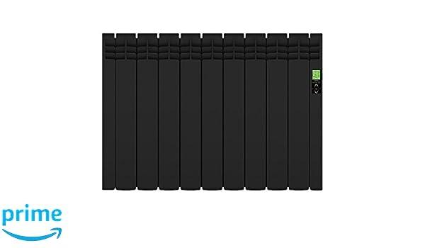 Rointe Delta Ultimate Black - Radiador eléctrico digital: Amazon.es: Hogar