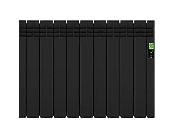 Rointe Delta Ultimate Black - Radiador eléctrico digital