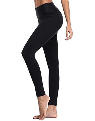 7c57818ccfed83 ATTRACO Women's Yoga Leggings Running Tights Inner Pocket Sports Leggings