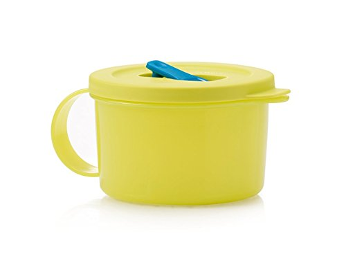 Tupperware Crystalwave Microwave Soup Mug 16 Oz Lime -  tuperware