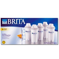Brita 35516 OB03 Pitcher Replacement Cartridge (5-Pack) (Brita Ob03 Replacement Filter)