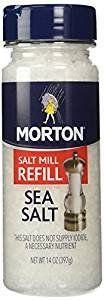 - Morton Extra Coarse Sea Salt Grinder Refill,