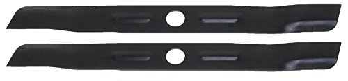 Low Lift Mower Blade - USA Mower Blades (2 BD19BP Low Lift Mulching Blade Replaces Black and Decker 905541433 Length 18 1/2 in. Width 1 3/4 in. Thickness .150 in. Center Hole 1 in.