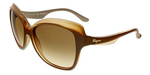 Salvatore Ferragamo Womens Gradient Designer Butterfly Sunglasses - Sunglasses Salvatore Designer Ferragamo