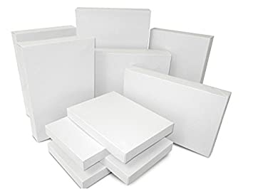 Amazon Com White Gift Boxes By Krafcor 20 Pack Assortment Gift