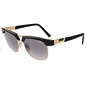 Cazal 9065 Sunglasses 001SG Black-Gold/Grey Gradient Lens 54mm