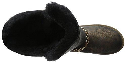 Australia Luxe Kollektive Damemaverick Støvel Knitring Sort / Gull