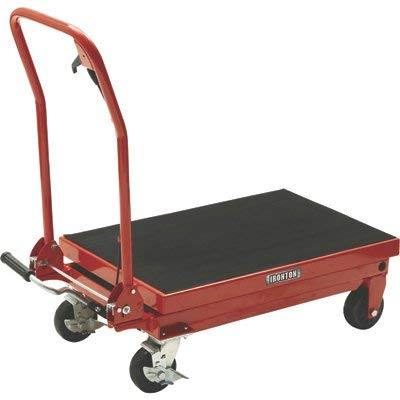 Ironton Hydraulic Table Cart - 1000-Lb. Capacity, 34 3/4in. Lift ()