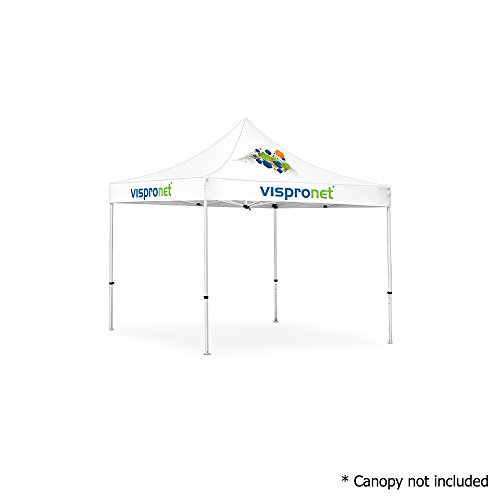 Vispronet 10ft x 10ft Commercial Steel Tent Frame – Powder-Coated Off-White Steel 10×10 Pop Up Canopy Frame (Frame Only, Canopy not Included) For Sale