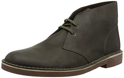 Clarks Men's BUSHACRE 2 Boot, dark olive leather, 10.5 M US