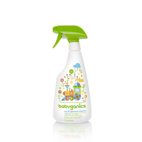BabyGanics The Cleaner Upper Unscented Toy & High Chair Cleaner - 16 Ounce