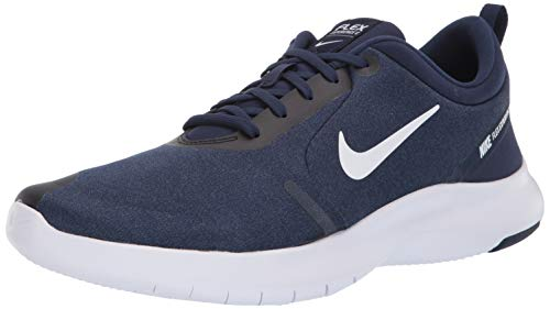Nike Men's Flex Experience Run 8 Shoe, Midnight Navy/White-Monsoon Blue, 10.5 4E US