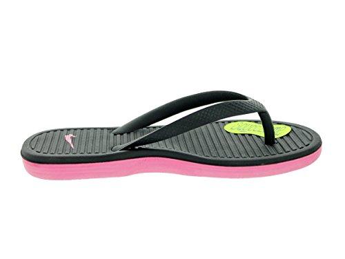 Nike Solarsoft Thong II (GS/PS) Badelatschen black-digital pink- 28