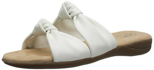 - LifeStride Women's Eden Sandal, White, 9.5 M US