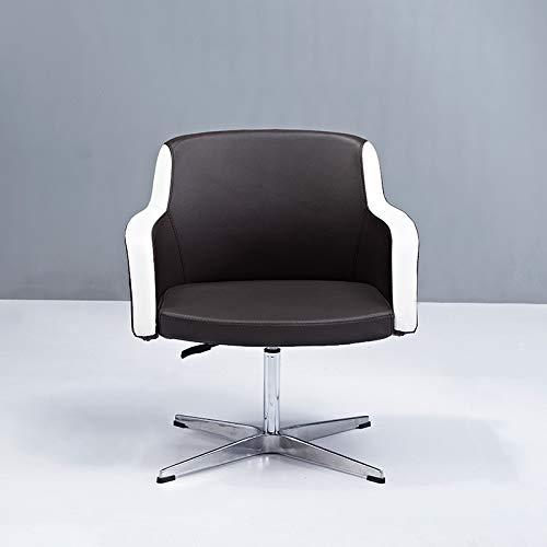 ZJYSM Modern Fashion Simple Backrest Modern Aluminum Frame Chair Office Lounge Chair Office Class Front Backrest Computer Chair Bar Stools (Size : ()