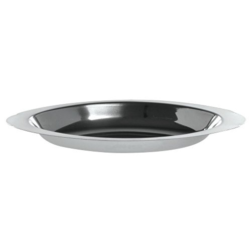 HUBERT Stainless Steel Oval Au Gratin Dish 12 Oz