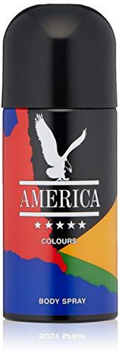America | America Colours | Body Spray | Fragrance for Men | Aromatic Tonic Scent | 5.1 oz America Eau De Toilette Spray