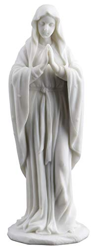 Blessed Virgin Mary Statue Sculpture Figurine 8