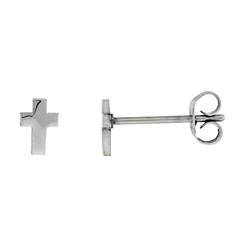 Stainless Steel Very Cross Earrings