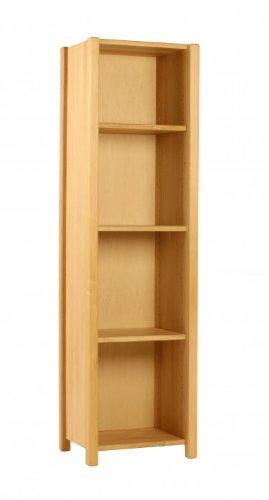 BioKinder Luca Kinderregal Standregal Regal Bücherregal aus Massivholz Erle 35 x 45 x 165 cm