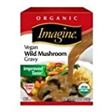 Imagine Foods Organic Vegan Wild Mushroom Gravy, 13.5 Fluid Ounce - 12 per case.