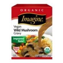 Imagine Foods Organic Vegan Wild Mushroom Gravy, 13.5 Fluid Ounce - 12 per case.