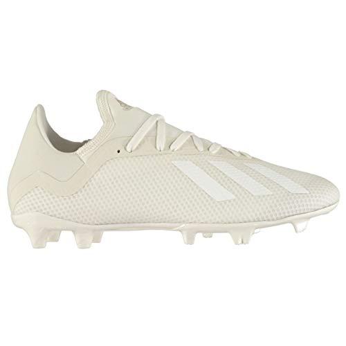 Battuta 18 44 Bianco Fg 3 Terra Tacchetti Da Su X Calcio Uomo Scarpe Eu Adidas FwOzS