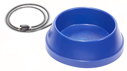 Allied Precision Bowl - Allied Precision Industries HPB5 93Ul1 5 Quart Plastic Heated Pet Bowl