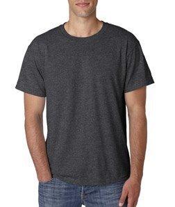 Jerzees Dri-Power Mens Active T-Shirt Medium Black Heather
