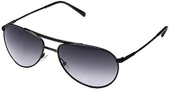Giorgio Armani - Gafas de sol Aviador GA 916/S, Black Metal Frame / Dark Blue Gradient