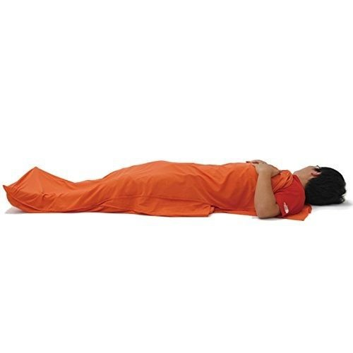 Green-Hermit Green Hermit Lightweight Travel Liner +5? Sleeping Bag Liner by Sleeping Bag