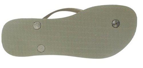 Havaianas Women's Maya Slim Sand Grey Flip Flop Sandal, SZ 11/12