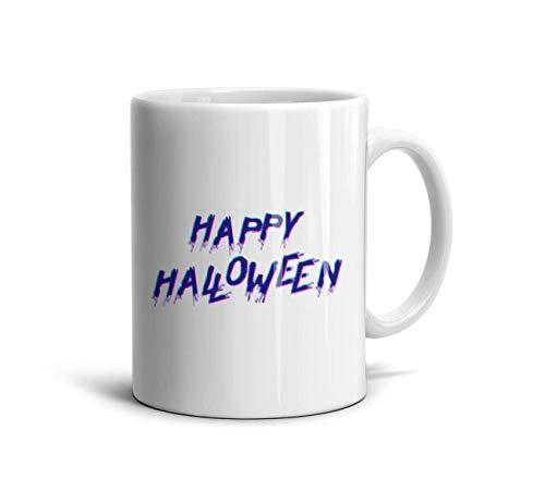 DoorSignHHH Vintage Halloween Invitations Simple Coffee Mug Natural White Ceramic Gift Reusable Large Coffee Cup]()