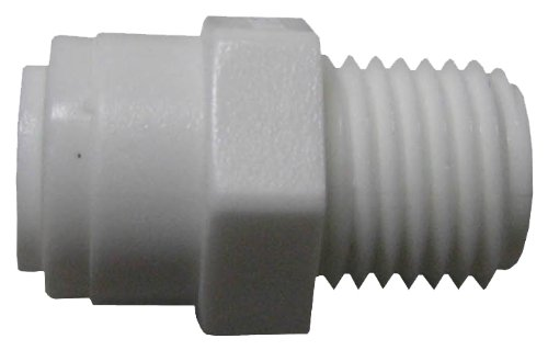WATTS PL-3005 Push Male Adapter, 1/4-Inch MIP