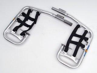 DG Performance 60-2102 - Alloy Series Nerf Bar - Aluminum fits Honda TRX 90 (1993 - - Nerf Bars Alloy