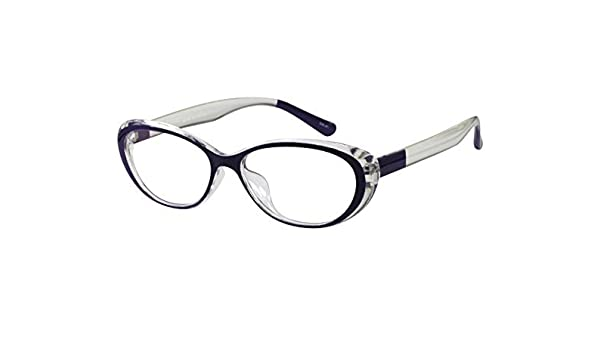 d73cc46909 Amazon.com  Ebe Reading Glasses Women Cat Eye Violet Unique +2.75 by  EyeBuyExpress  Health   Personal Care