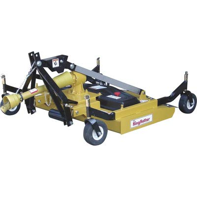 King Kutter Rear Discharge Finish Mower - 72in. w/ Double V-Belt, Model# RSFM-72 ()
