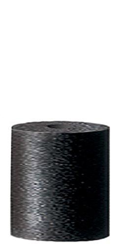 Silicon Carbide Coarse 1 x 7//8 Dedeco 0097 Rubberized Abrasive Cone Black Cylinder