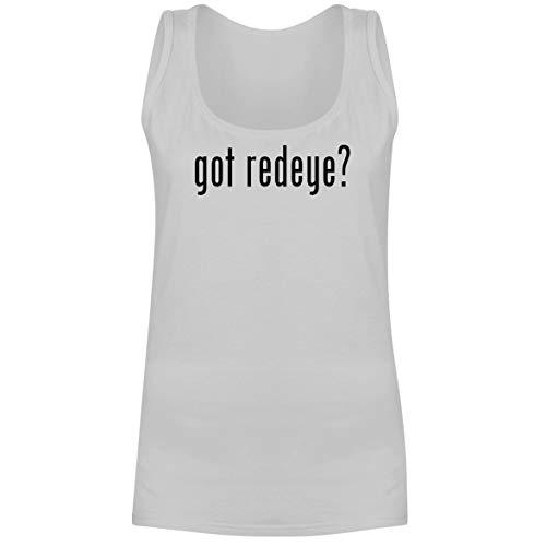 The Town Butler got Redeye? - A Soft & Comfortable Women's Tank Top, White, X-Large