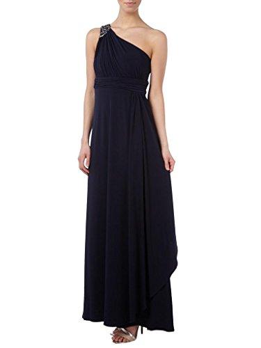 Charmant Damen Elegant Ein-traeger Brautmutter Abendkleider Ballkleider Partykleider Lang Etui Festlich