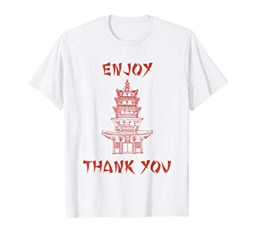 Chinese Take Out Girl Halloween Costume (Chinese Food Take Out Box Costume T shirt)
