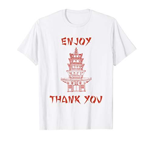 Chinese Food Take Out Box Costume T shirt T-Shirt
