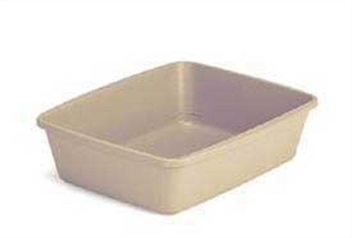 Petmate Litter Pan with Microban – Assorted Colors – Large, My Pet Supplies