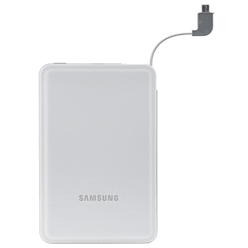 Samsung Universal 3100mAh Portable External Battery Charger - White