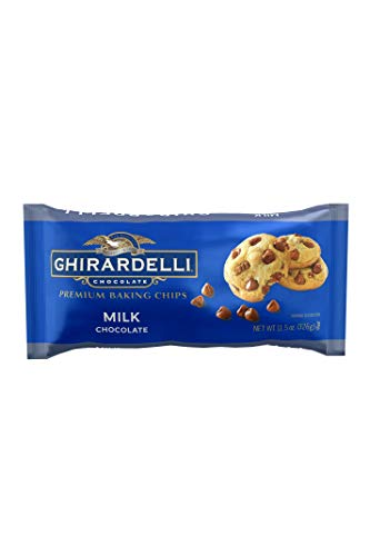 Ghirardelli Chocolate Baking Chips, Milk Chocolate, 11.5 oz., 6 Count ()