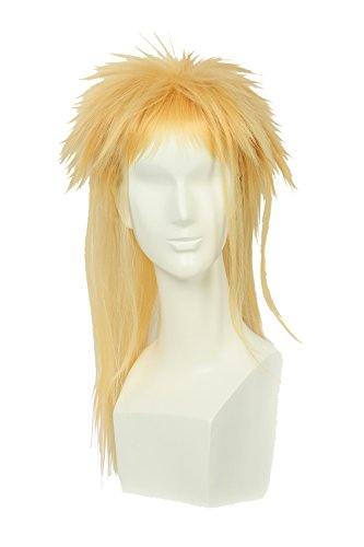 [Jareth Wig Labyrinth Cosplay Particular Hairstyle Wig Costume Props XCOSER] (Jareth Halloween Costume)