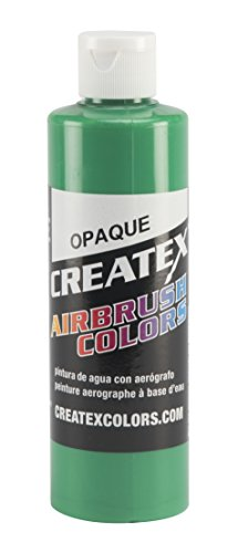 Createx Colors Paint for Airbrush, 8 oz, Opaque Light Green ()
